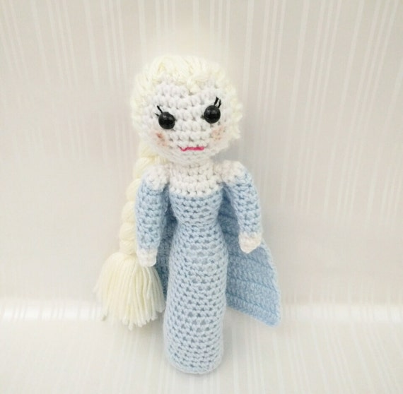 Crochet Elsa Doll : Crochet Elsa Doll/Crochet Anna Doll/Elsa Anna Doll/Elsa and