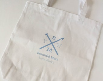 Beautiful Mess Yarn Works Tote Bag