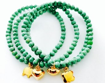 Bracelet brings green happiness