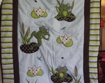 Baby Frog Quilt