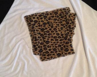State leopard shirt (baseball tee)