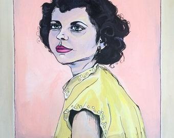 Yvette- Original Acrylic Painting