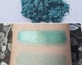 Calypso - Sea Green, Mineral Eyeshadow, Mineral Makeup
