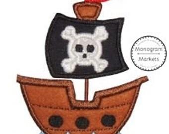 Pirate Shipp Applique