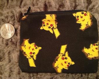 Pikachu Pokémon Coin Bag