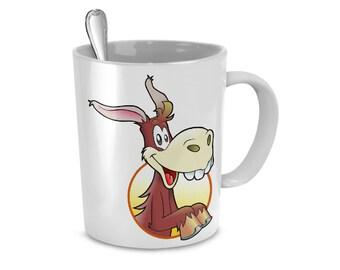 Happy Donkey - 11oz Mug