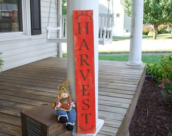 Harvest pallet sign.  Fall sign, harvest sign, fall, autumn, autumn decor, fall decor, Harvest, Fall porch sign, rustic fall sign