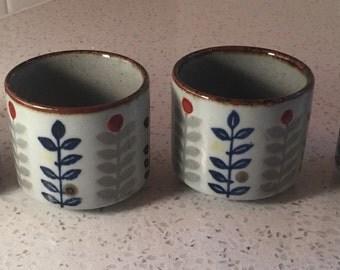 Vintage Otagiri Tea Cups