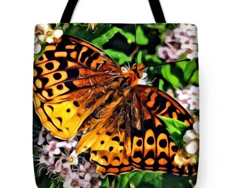 Butterfly Beauty...Tote Bag by artist MPL