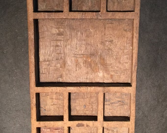 Old wooden Betel nut preparation box