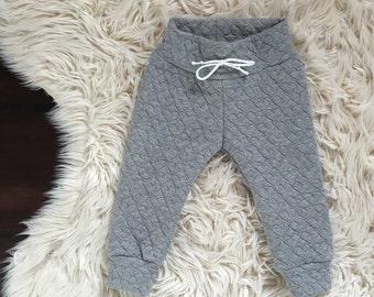 Heart sweatpant leggings // baby girl leggings // baby leggings