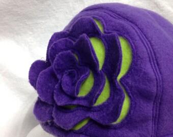 Flower fashion hat