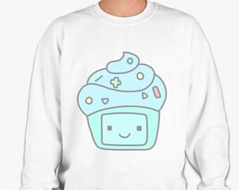 Adventure Time BMO Cupcake Sweatshirt