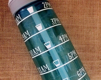 Water Bottle Tracker DECAL ONLY