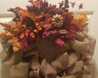 Vibrant Fall Wreaths