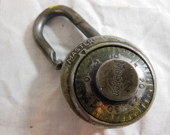 Old Master Combination Pad Lock
