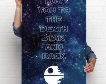 Death Star Poster 24x36