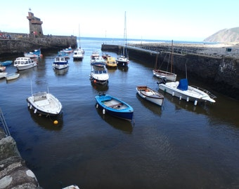 Lynton, Devon boat dock