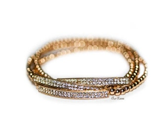 Simple Stretchy Bracelet Set BL00091