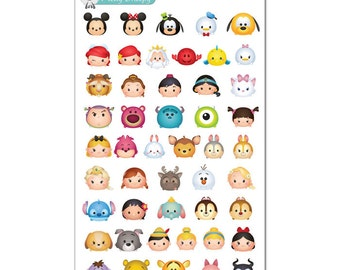 Tsum Tsums Stickers (Mini) - Disney Planner Stickers