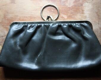 Black Woman's Fashion Handbag Purse Clutch