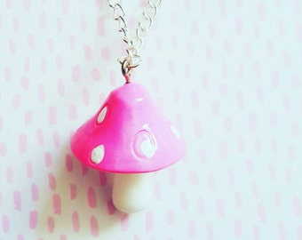 Cute Toadstool necklace
