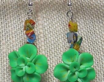 045E Flower Power Earrings