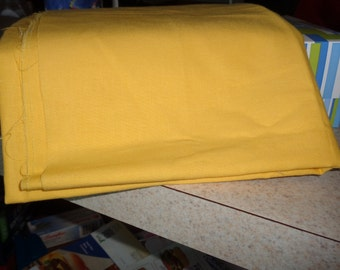 3/4 yard of daffodil yellow broadcloth