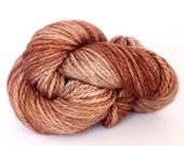 Milk Chocolate - MCN Aran Yarn - Hand Dyed - Merino Cashmere