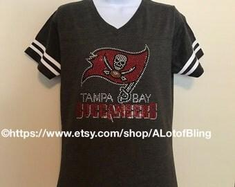 Tampa Bay Buccaneers Rhinestone T-Shirt