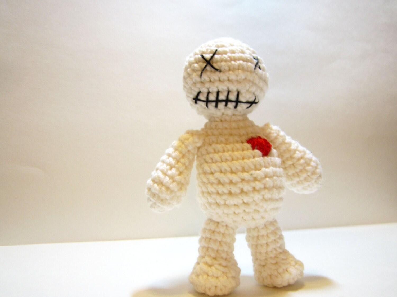 Voodoo Doll Crochet Poppet Doll Amigurumi Voodoo Doll