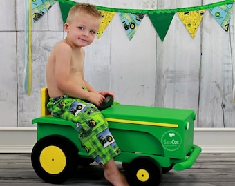Little Green Tractor Photography Prop