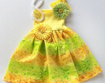 Mommy Miss Lily Dress Photo Prop Spring Citrus