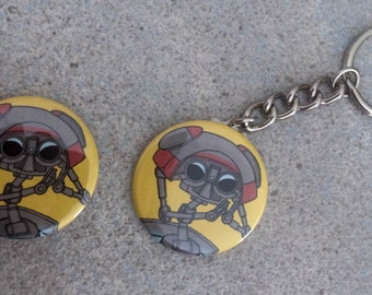 Tales from the Borderlands- Gortys Button