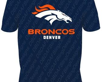 Denver Broncos Vinyl Design