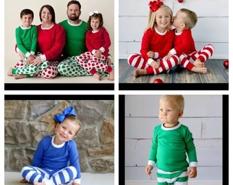 Pre-Order Child Christmas Pajamas ENDS AUGUST 3RD