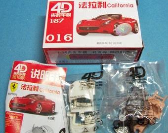 1/87 HO Scale FERRARI CALIFORNIA Plastic Model Kit