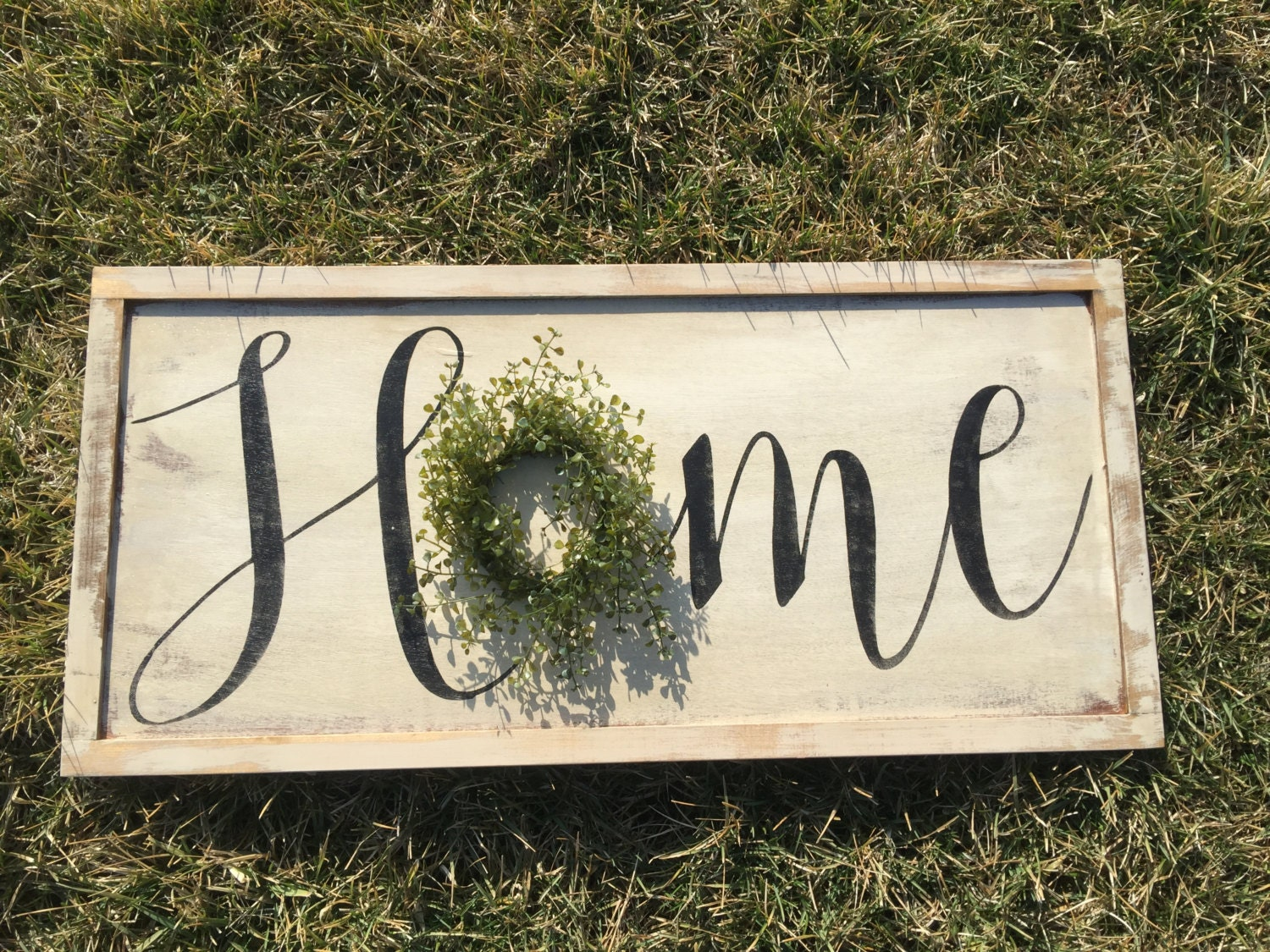 Rustic home sign wood signs