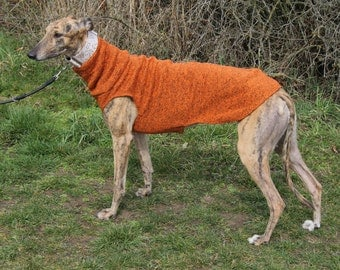 Greyhound coat, Greyhound clothing, greyhound sweater, greyhound coat,