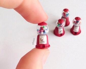 Miniature Gumball Machine/Miniature Gumball Machine Charm