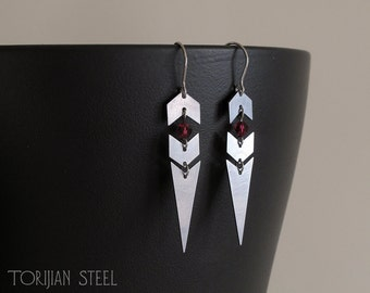 Chevron Point Earrings