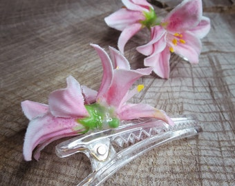 Lily Hair Clip ~2 pieces #100937
