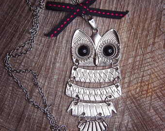 Owl Necklace ~1 pieces #100424
