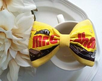 Mr Goodbar yellow bow