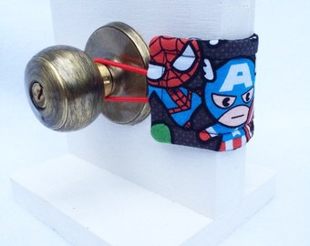 Kawaii Marvel, Avengers Door Pillow, or Door Muffler, Hulk Spiderman Thor Loki Ironman
