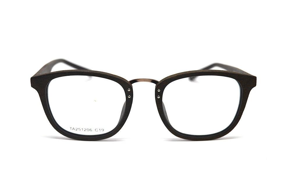 Eyeglass Frame Bags : Acetate Glasses Wood Grain Eyeglass Frames by KeepwoodEyewear