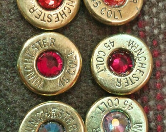 Winchester Colt 45 earrings