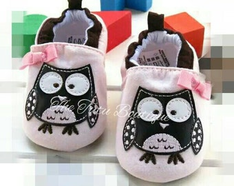 Owl Moccasins, Cute Baby Shoes, Baby Girl Moccasins, Baby Slippers, Super Cute Shoes