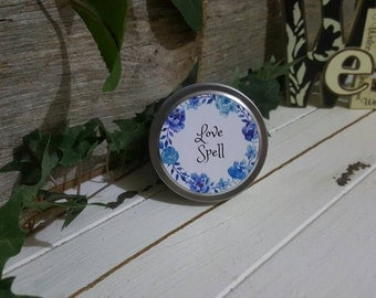 Love Spell Soy Candle - Hand Poured, Sml Tin, Melbourne Made