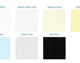 25 Linen Texture Belly Bands - Choose Color